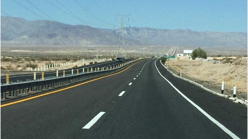 Hay 8 tramos carreteros en BC con más accidentes(Archivo)