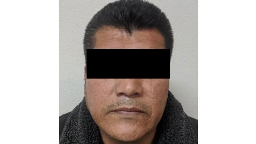"""El detenido está identificado como José Emigdio """"N"""", """"Arqui"""".(Cortesía)"""