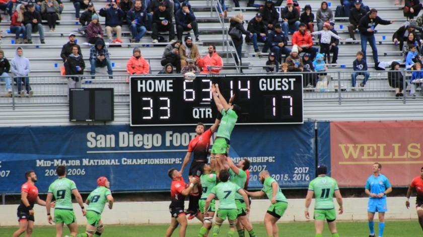 Arranca temporada de la Liga Mayor de rugby en San Diego