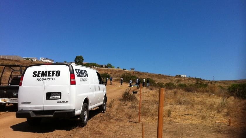 Encuentran cadáver en Rancho 40, en Rosarito