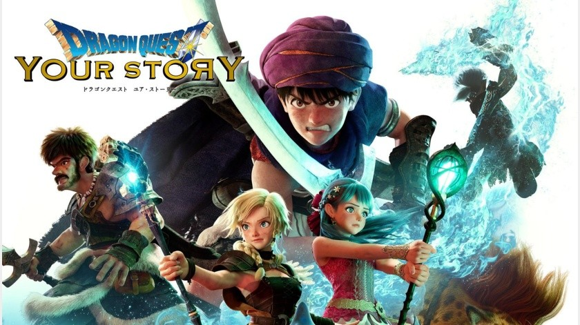 Dragon Quest: Your Story ya disponible en Netflix