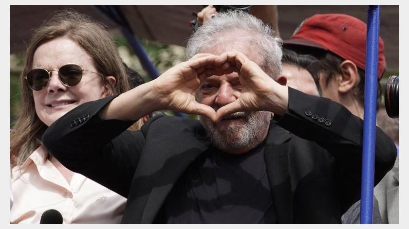 Lula, quien gobernó Brasil de 2003 a 2010, niega haber hecho nada ilegal y sostiene que las acusaciones obedecen a motivaciones políticas.(AP)