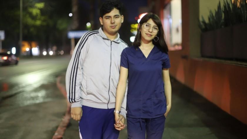 Ramsés tiene 18 y Karen 21 años de edad.(Gustavo Suárez)