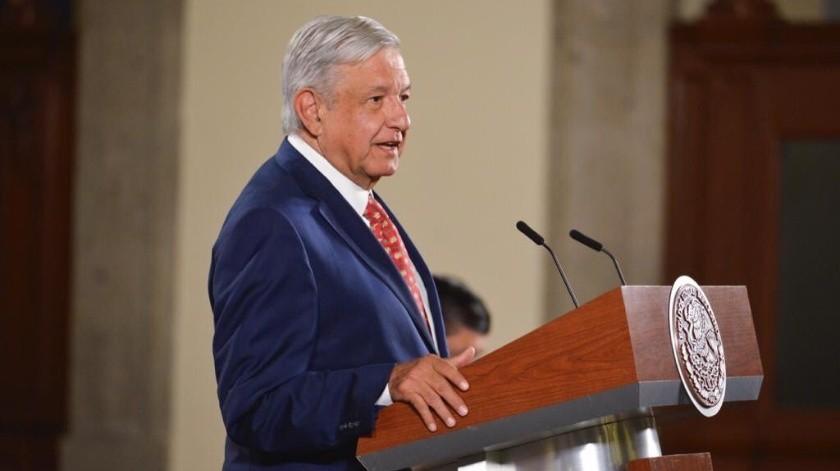 Al iniciar su conferencia de prensa en Palacio Nacional, el titular del Ejecutivo federal también pidió dejar a un lado las enemistades y confrontaciones.