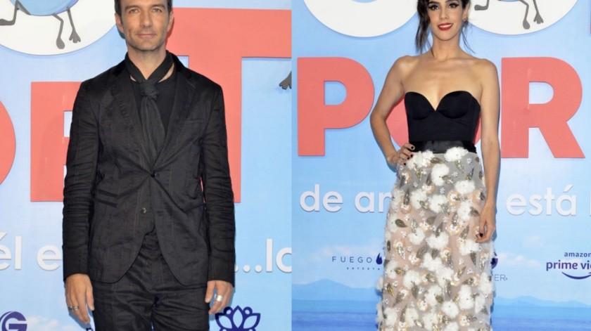 Leonardo de Lozanne y Sandra Echeverría no harían dueto.(Agencia México)