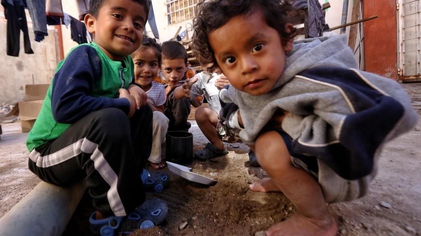 Buscan ayuda para construir baños en albergue de migrantes(Daniel Resendiz)