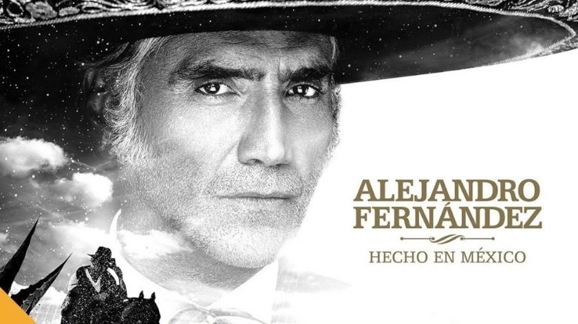 Alejandro Fernández está de estreno.(Cortesía)