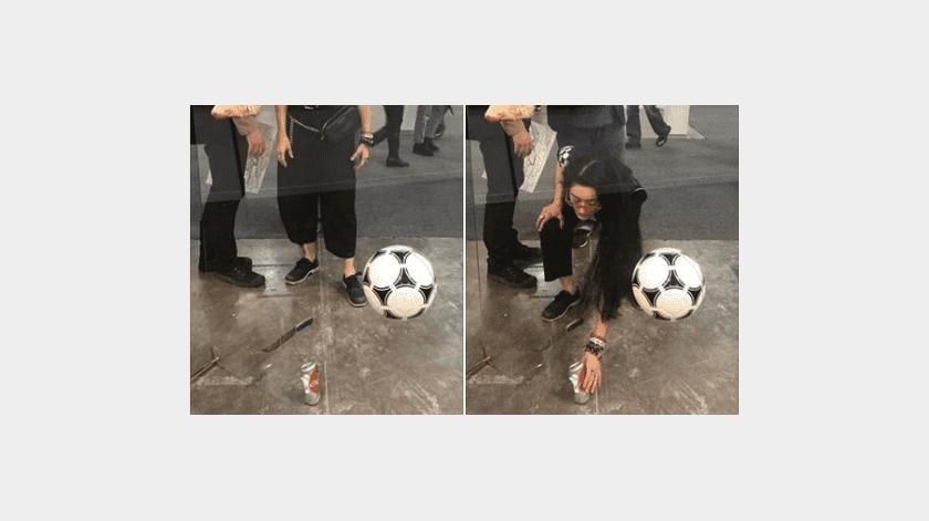 A casi una semana del incidente de la obra de Gabriel Rico en Zona Maco que protagonizó la crítica de arte Avelina Lésper, la Galería OMR ha roto su silencio con un comunicado publicado en sus redes sociales.(Captura de pantalla)