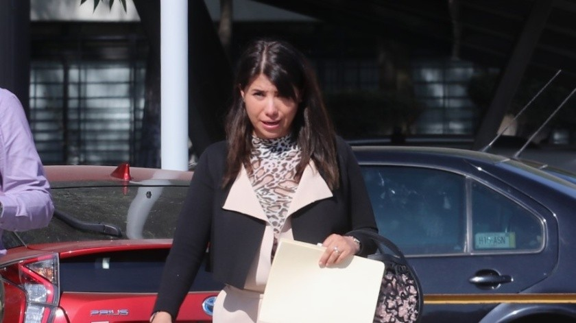 Aracely Gómez se benefició con una notaría antes de finalizar el gobierno del priista Francisco Olvera.(Agencia Reforma)