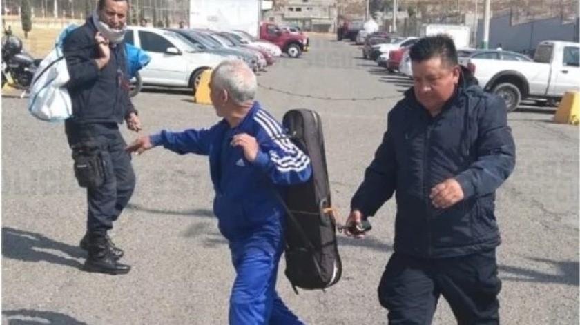 """Tras un año preso, Lucio Yáñez García """"El Violinista fue dejado en libertad.(Policía Estatal.)"""