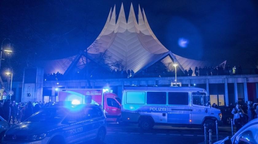 Tiroteo en Berlín deja 1 muerto y 4 heridos(AP)