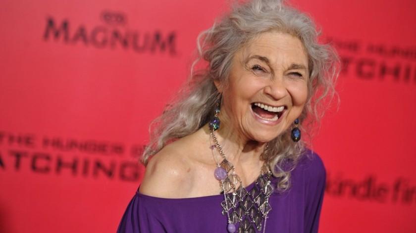 La actriz tenía una larga y exitosa carrera.(AP)