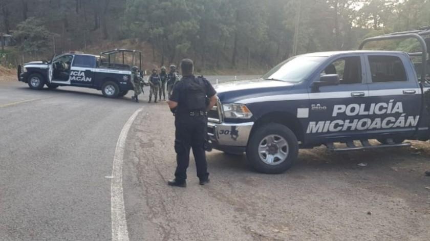 Enfrentamiento armado deja al menos tres muertos en Uruapan(Especial)