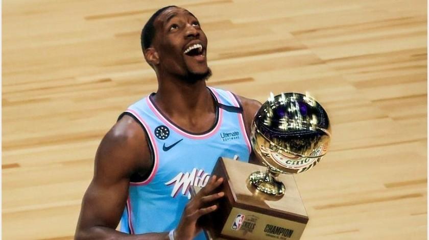 NBA: Bam Adebayo gana Concurso de Habilidades, no apostaban por él(EFE)