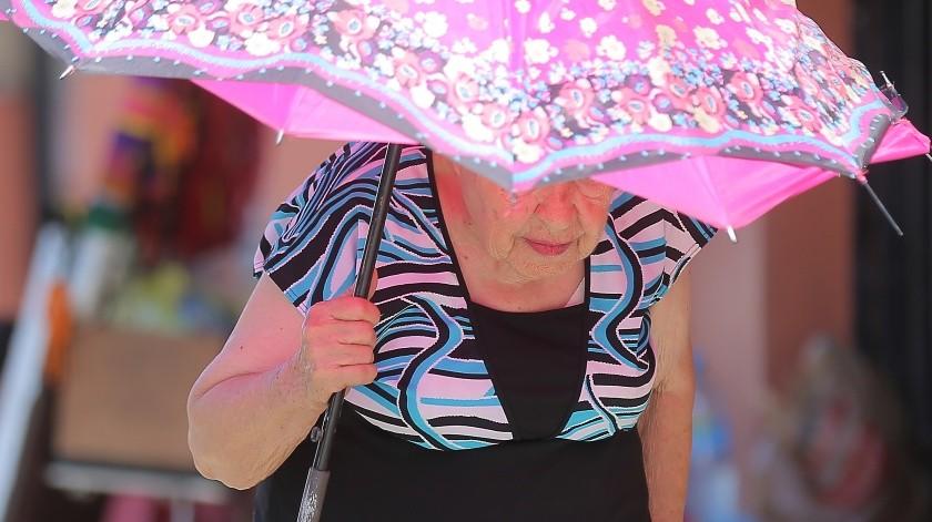 Las lluvias podrían ser con descargas eléctricas y fuertes rachas de viento.(El Imparcial)