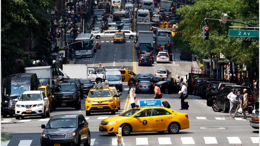 El temor al contagio ha afectado también las ventas en comercios del popular sector de Chinatown en Manhattan.(EFE)
