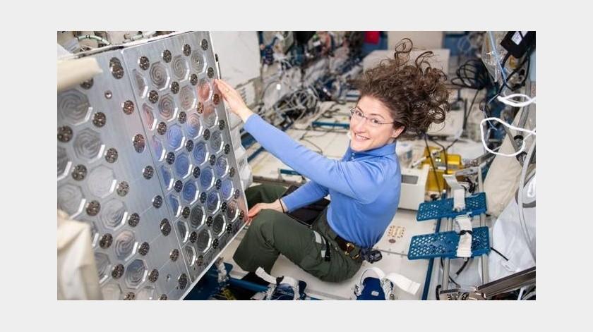 Christina Koch, la astronauta que se abre camino a la Luna