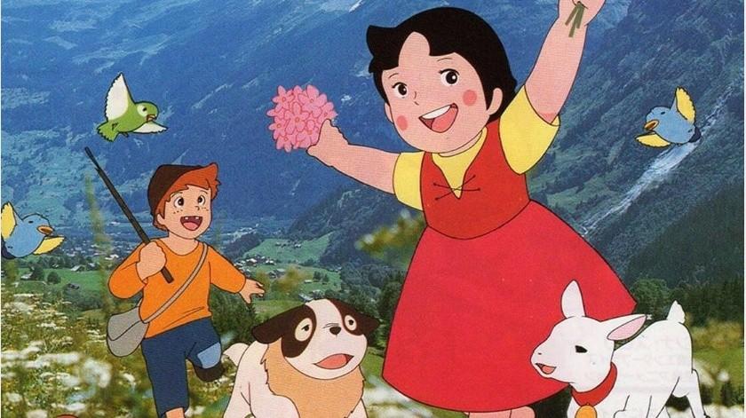 """""""Heidi"""" la serie animada cumple 46 años de su estreno"""