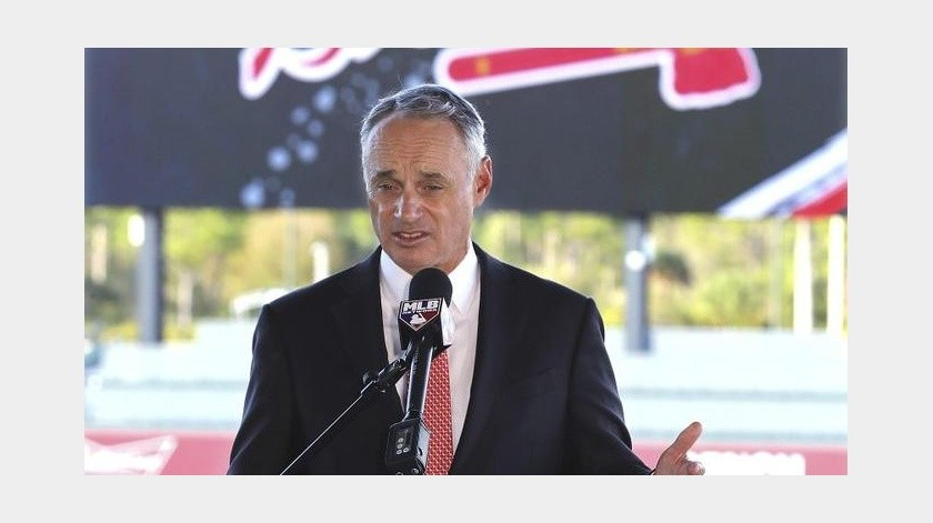 "Manfred: ""No se tolerarán represalias contra Houston""(AP)"