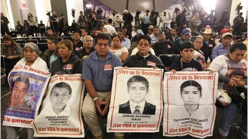 Ayotzinapa es máxima prioridad del gobierno: AMLO(EFE)