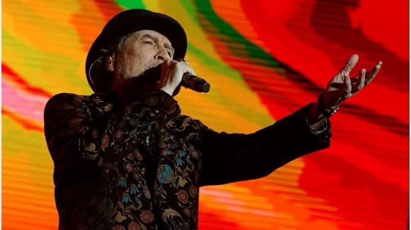 Durante el concierto que ofrecía el pasado 12 de febrero en el Wizink Center de Madrid, Sabina cayó al foso desde el escenario, a una altura aproximada de 1,70 metros...(EFE)