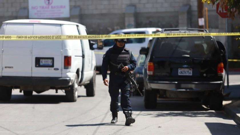 Oficiales de la Policía Municipal notificaron de los hechos a la Fiscalía General del Estado.