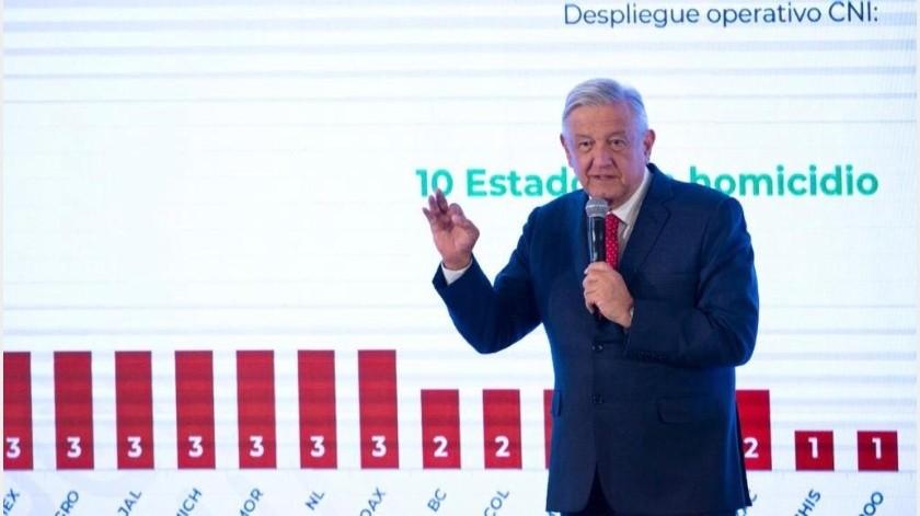 """En el mismo discurso, Obrador aseguró que hallar a los responsables del feminicidio no es la solución a los casos como el de Fátima, sino """"purificar la vida pública"""".(Archivo GH)"""