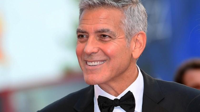 George Clooney interpretará a un astrónomo en su próximo proyecto.(EFE)