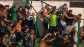 Argentina: Fanáticos de Nueva Chicago son agredidos durante juego
