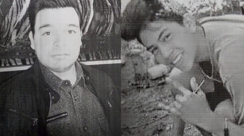 Juan David Calleros Murillo de 38 años y a Jorge Antonio Alba Hernández de 19 años de edad son los hombres desaparecidos.(Cortesía)