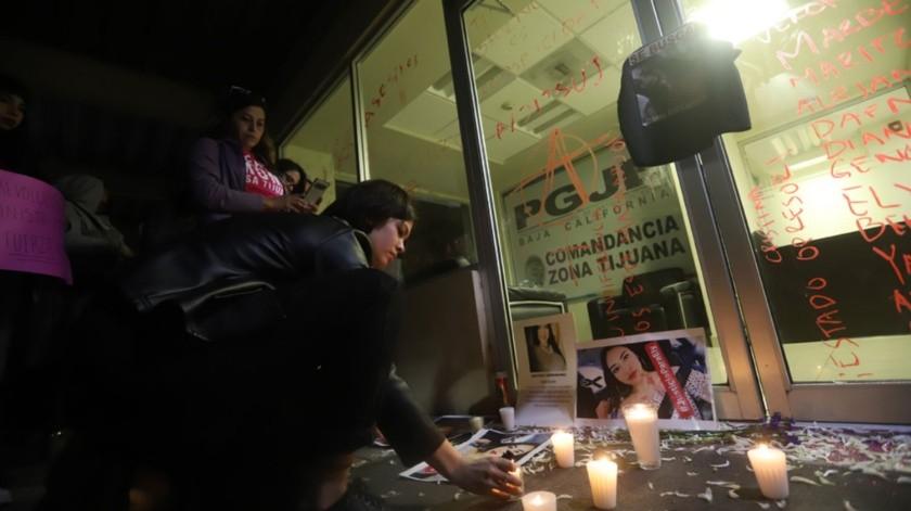 El sábado pasado se realizó una protesta para pedir justicia por las mujeres asesinadas en Tijuana.