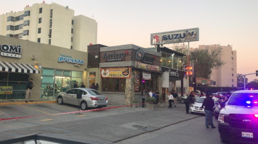 Ejecutan a uno en restaurante de sushi en Zona Río(Gustavo Suárez)