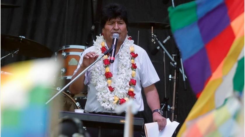Revisarán a detalle candidatura de Evo Morales a senador de Bolivia(EFE)