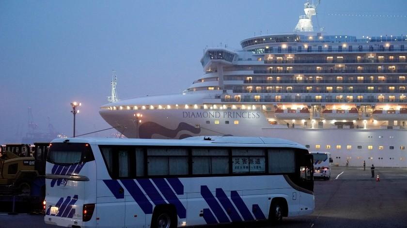 Detecta 88 casos más de COVID-19 en crucero de Yokohama(EFE)