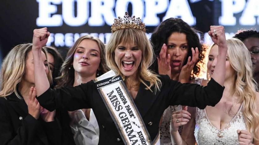Leonie Charlotte von Hase se impuso a otras 15 candidatas al título.(Tomada de la red)
