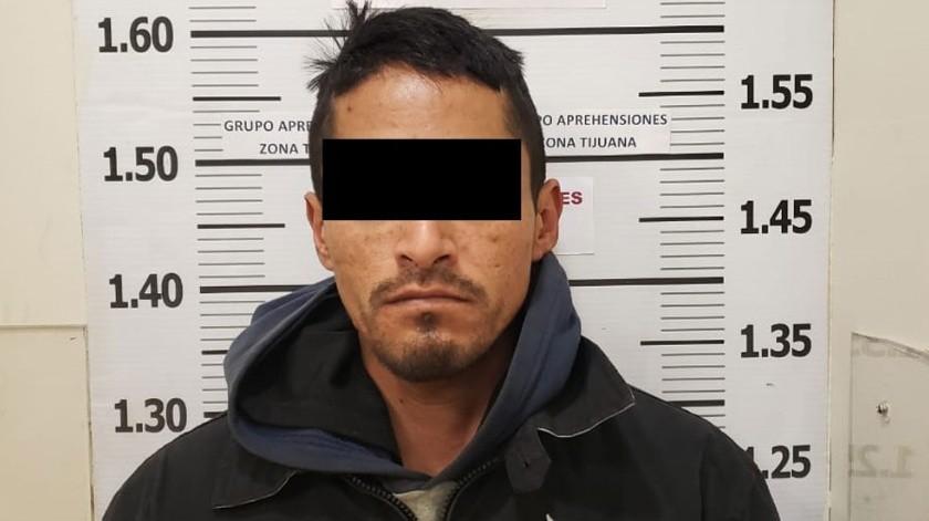 """El detenido está identificado como Francisco """"N"""", """"Thrupper"""".(Cortesía)"""