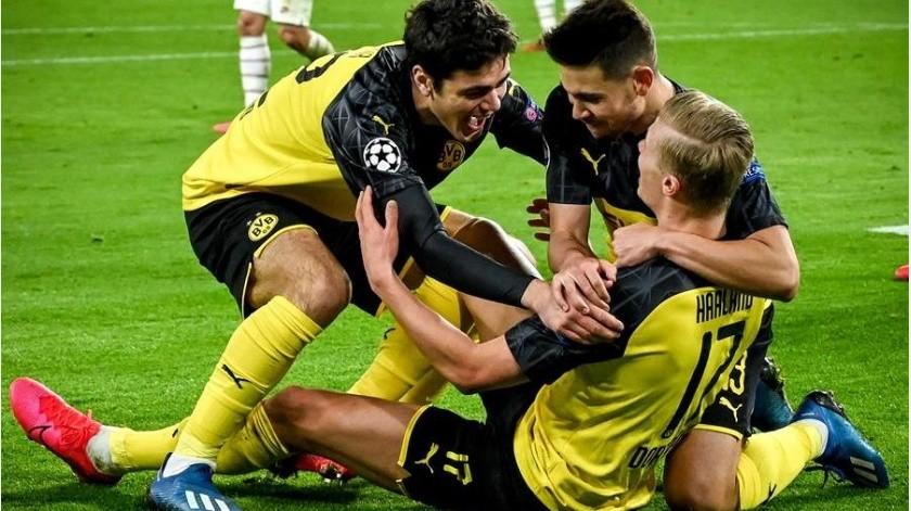 ¡Imparable! Haaland guía al Borussia en victoria ante PSG en Champions(EFE)