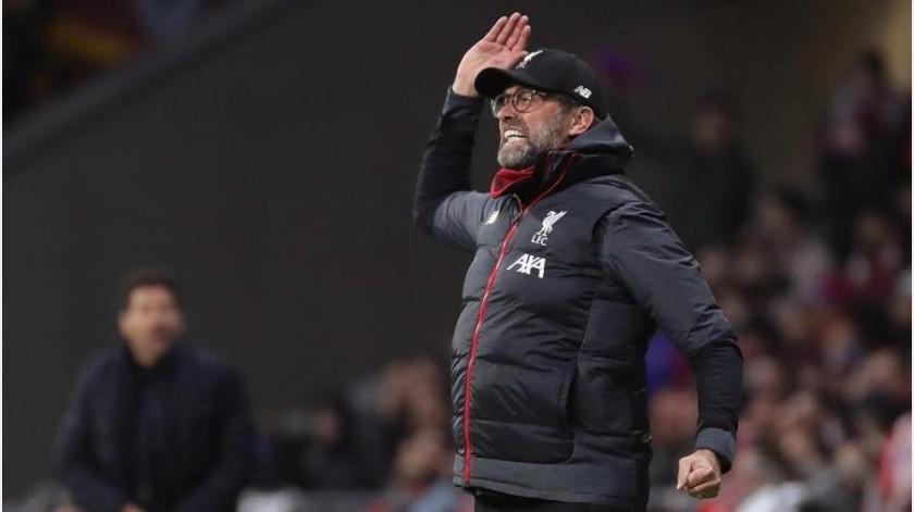 """¿Cuán grande era la racha invicta del Liverpool antes del """"Atleti"""" y Simeone?(EFE)"""