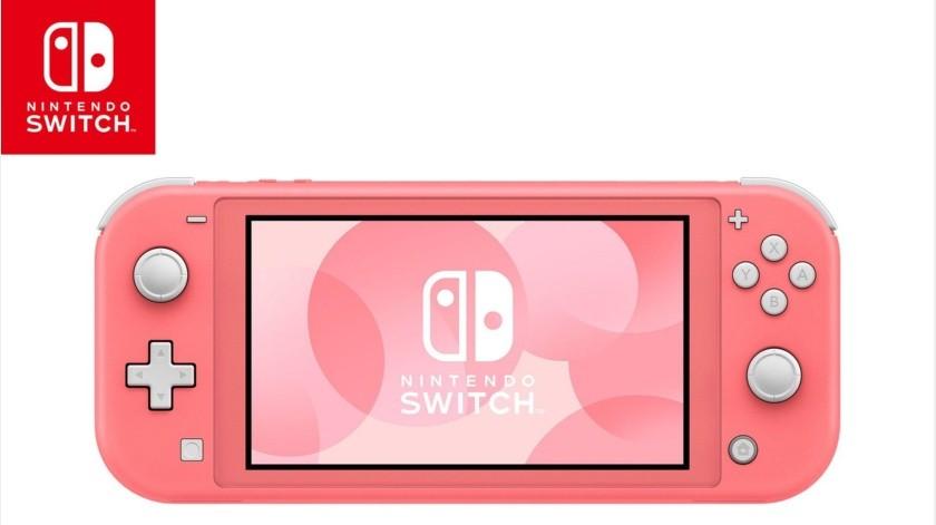 Nintendo Switch Lite disponible en color coral