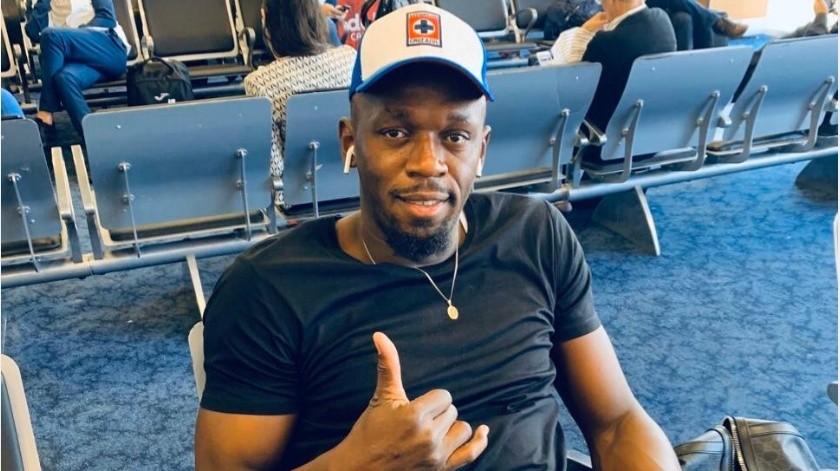 Usain Bolt se destapa como fan del Cruz Azul(Twitter @CruzAzulCD)