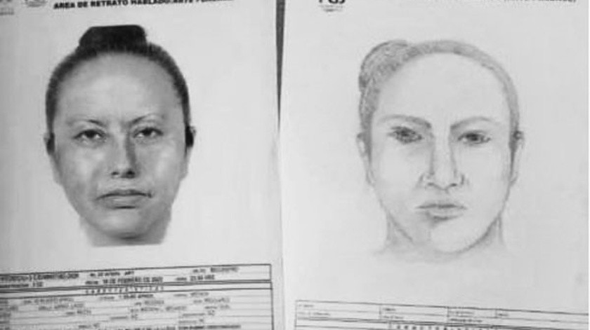 El retrato hablado de la mujer que se llevó a Fátima fue divulgado por la Policía.