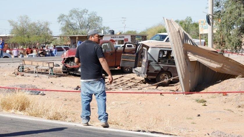 El pasado 16 de enero, fallecieron tres personas y menores resultaron lesionados por el accidente automovilístico.(Julián Ortega)