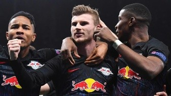 Werner tumba al Tottenham en la ida de octavos de Champions League