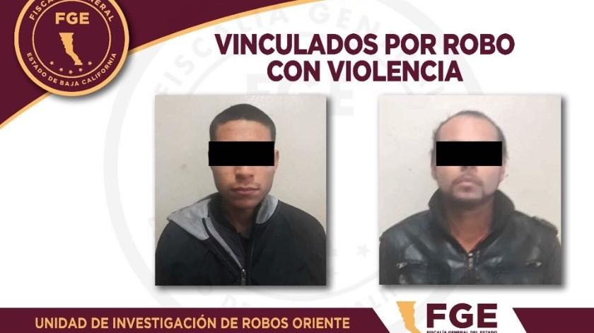Vinculan a proceso a imputado por robo con violencia a comercio(Cortesía)