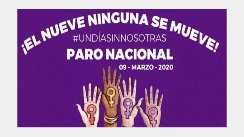 Convocan a #UnDíaSinNosotras: Paro Nacional el 9 de marzo por feminicidios