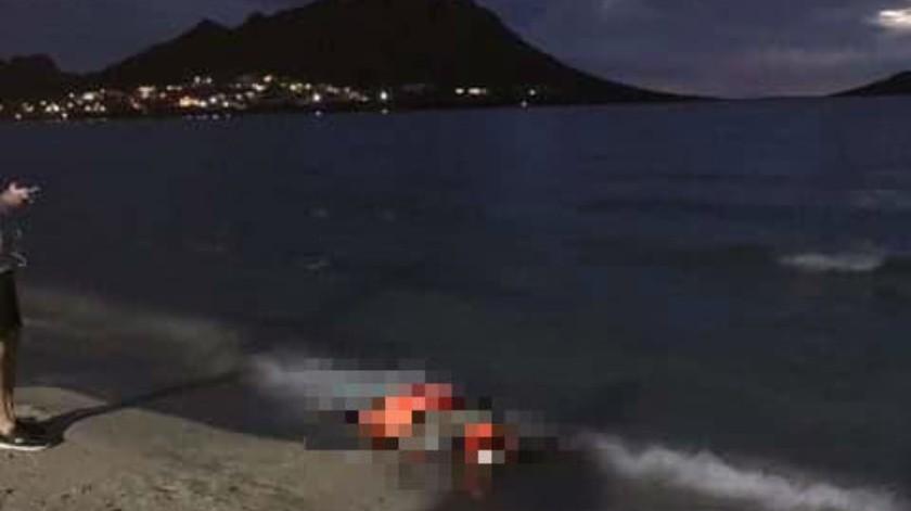 Identifican los cuerpos localizados en la playa
