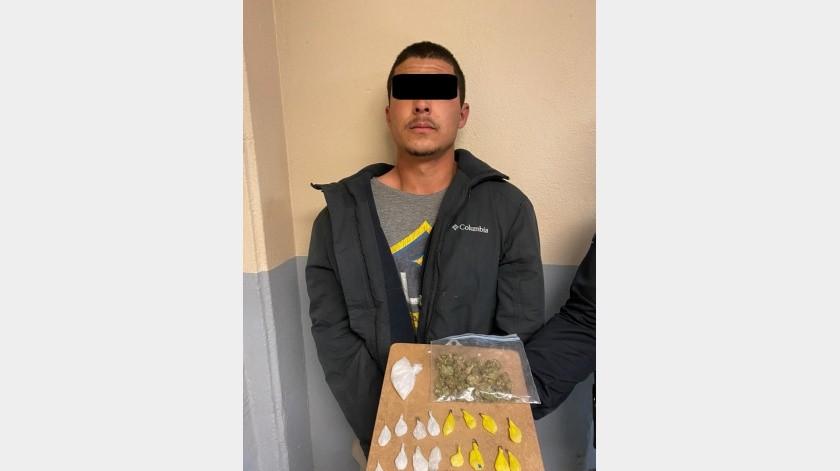 """Detienen a """"tirador"""" de droga en el valle(Cortesía)"""