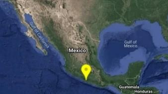 Sismo magnitud 5.2 sacude Guerrero y se percibe en CDMX