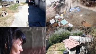 Los presuntos asesinos pidieron rentar un cuarto a Irma (recuadro inferior izquierdo), tía de Mario, en el Ejido la Palma, en el Municipio de Isidro Fabela, Estado de México.
