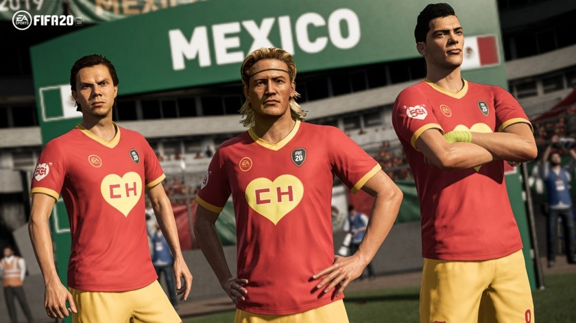 FIFA 20 lanza uniforme del 'Chapulín Colorado' en honor a 'Chespirito'.(Twitter)